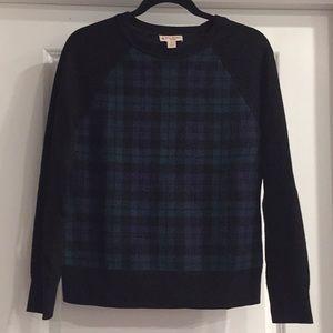 Brooks Brothers Tartan Plaid Sweater